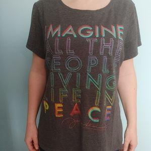 John Lennon Imagine T-shirt